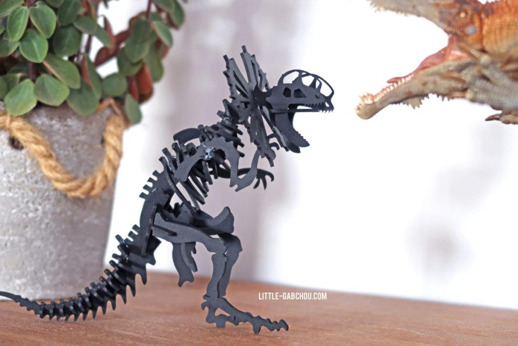 Décoration dinosaure à monter soi-même Agent Paper
