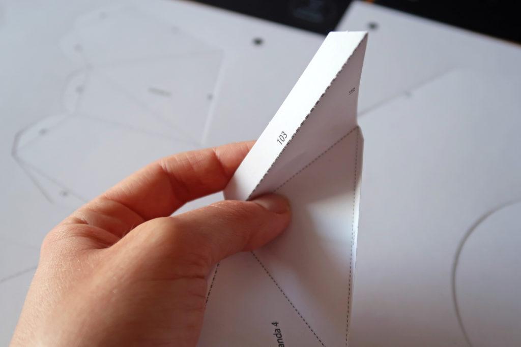 Pliage trophée origami Agent Paper