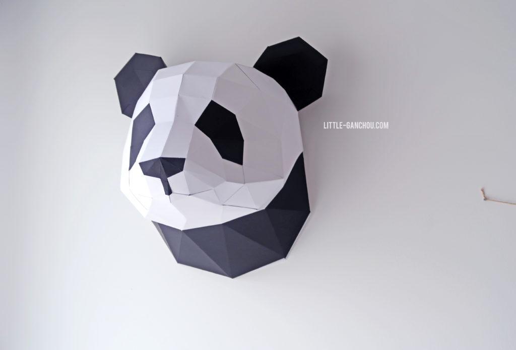 Trophée panda Agent Paper