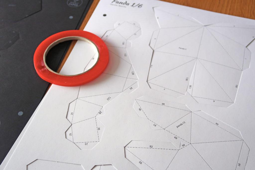 montage trophée 3D Agent Paper