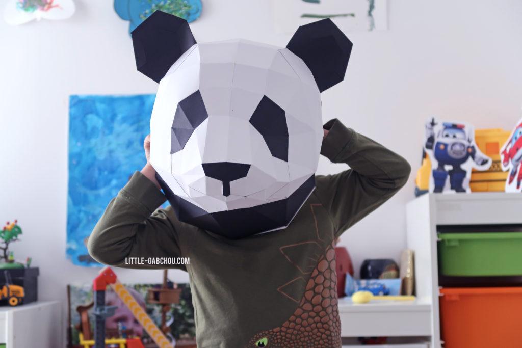 trophée panda 3D Agent Paper test et avis