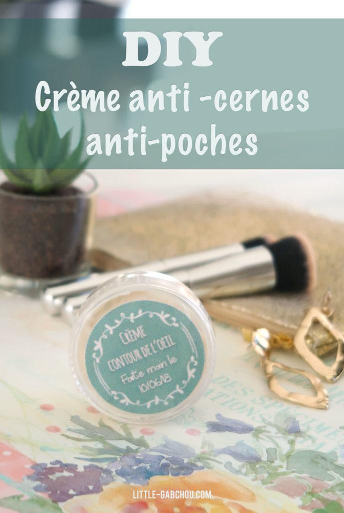 Recette de crème anti-cernes anti-poches, anti-âge