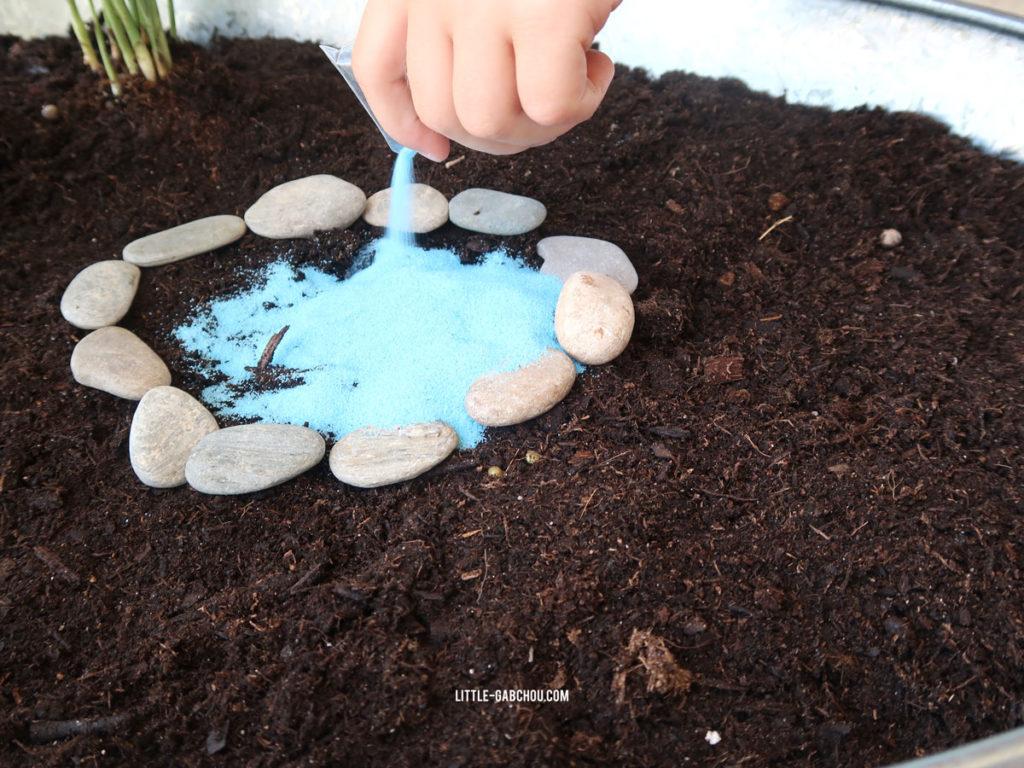 création de fairy garden jardin miniature