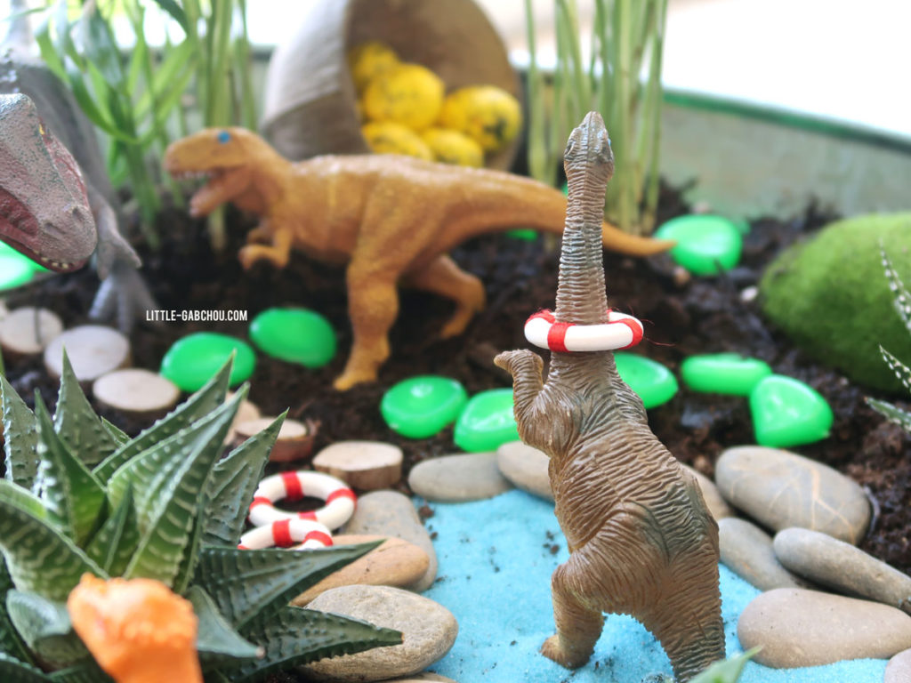 fairy garden dinosaurs for kids