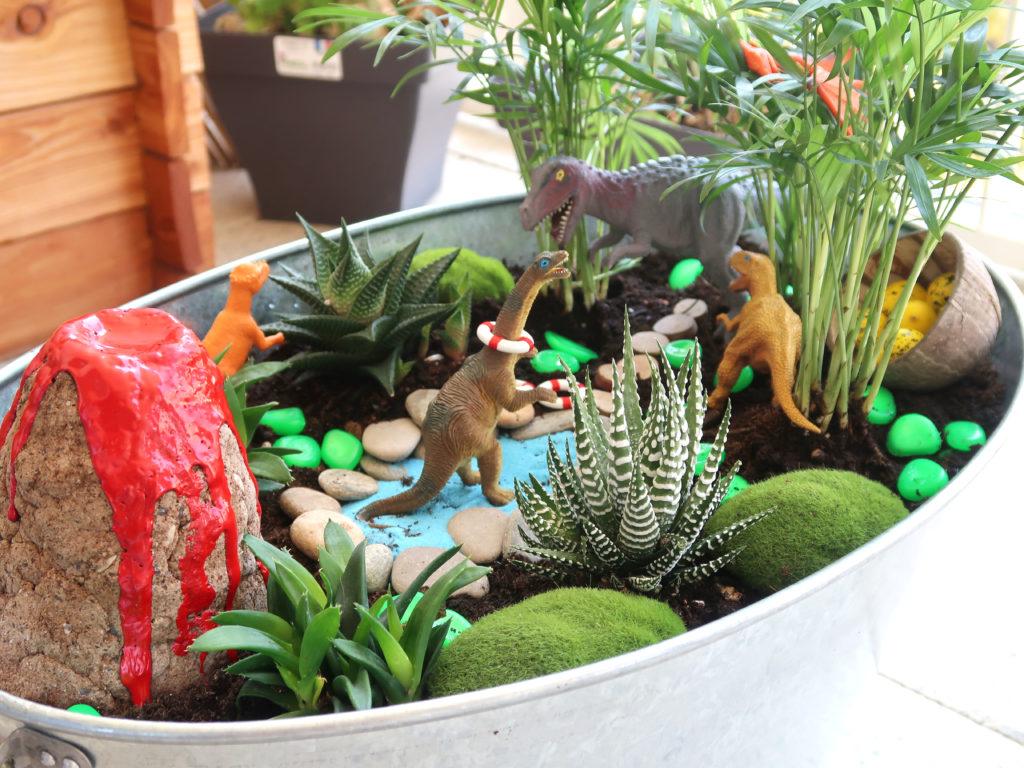 jardin miniature fairy garden à faire avec les enfants