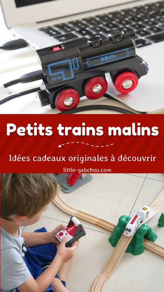 jouets malins trains rechargeable et radiocommandés BRIO