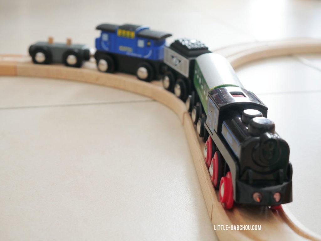 locomotives à vapeur rechargeable sans pile jouet Brio