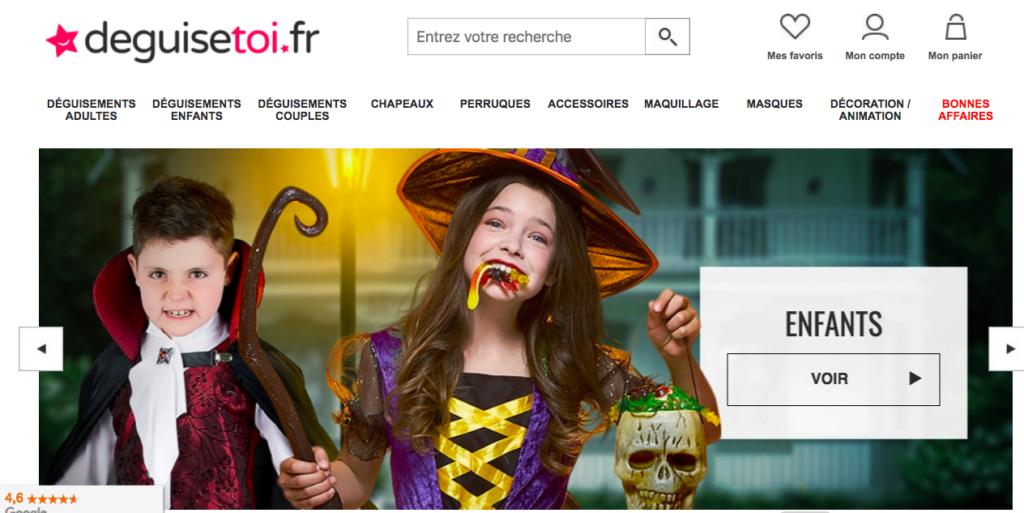 test et avis du site deguisetoi.fr