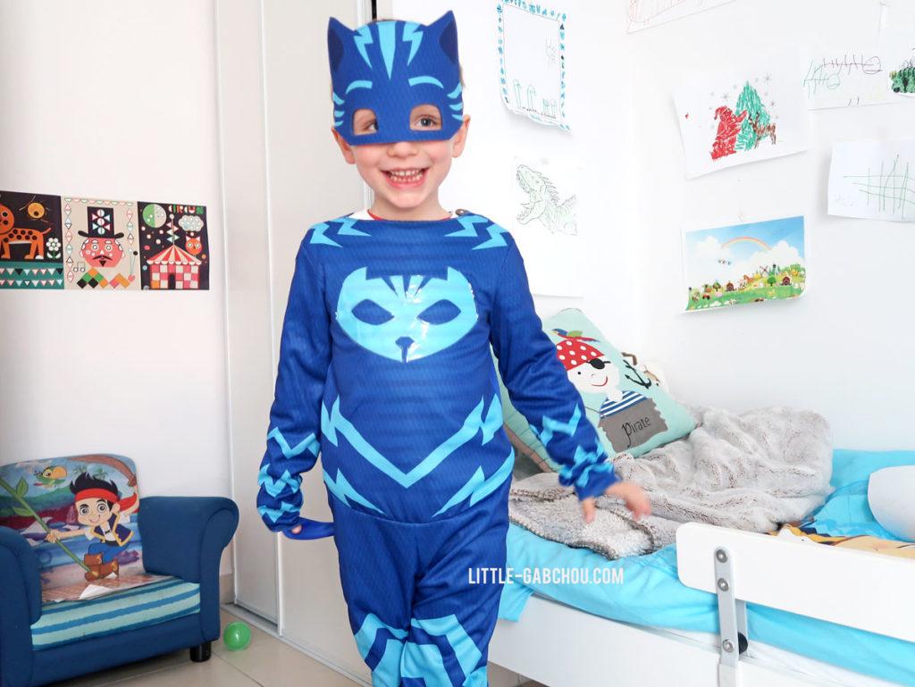 déguisement pour enfant Yoyo des Pyjamasques