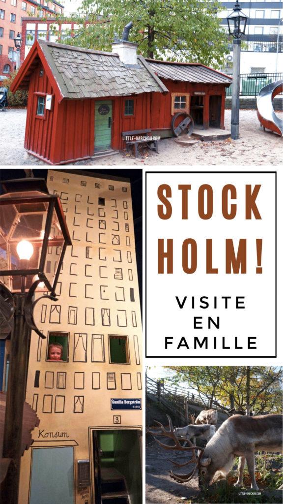Quoi visiter à Stockholm avec des enfants