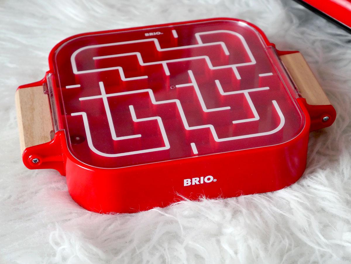 Idée cadeau enfant le jeu de labyrinthe des petits Brio