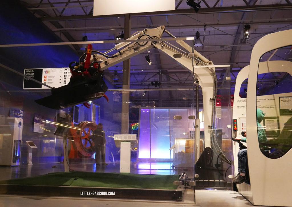 musée des sciences de Stockholm