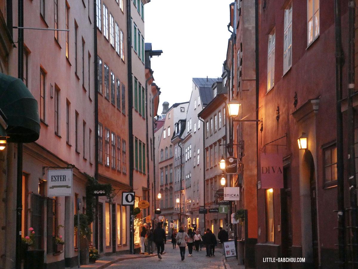 visite de gamla stan Stockholm