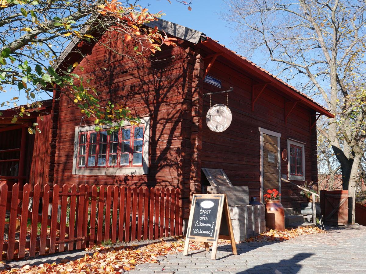 visite de Skansen musée en plein air de Stockholm