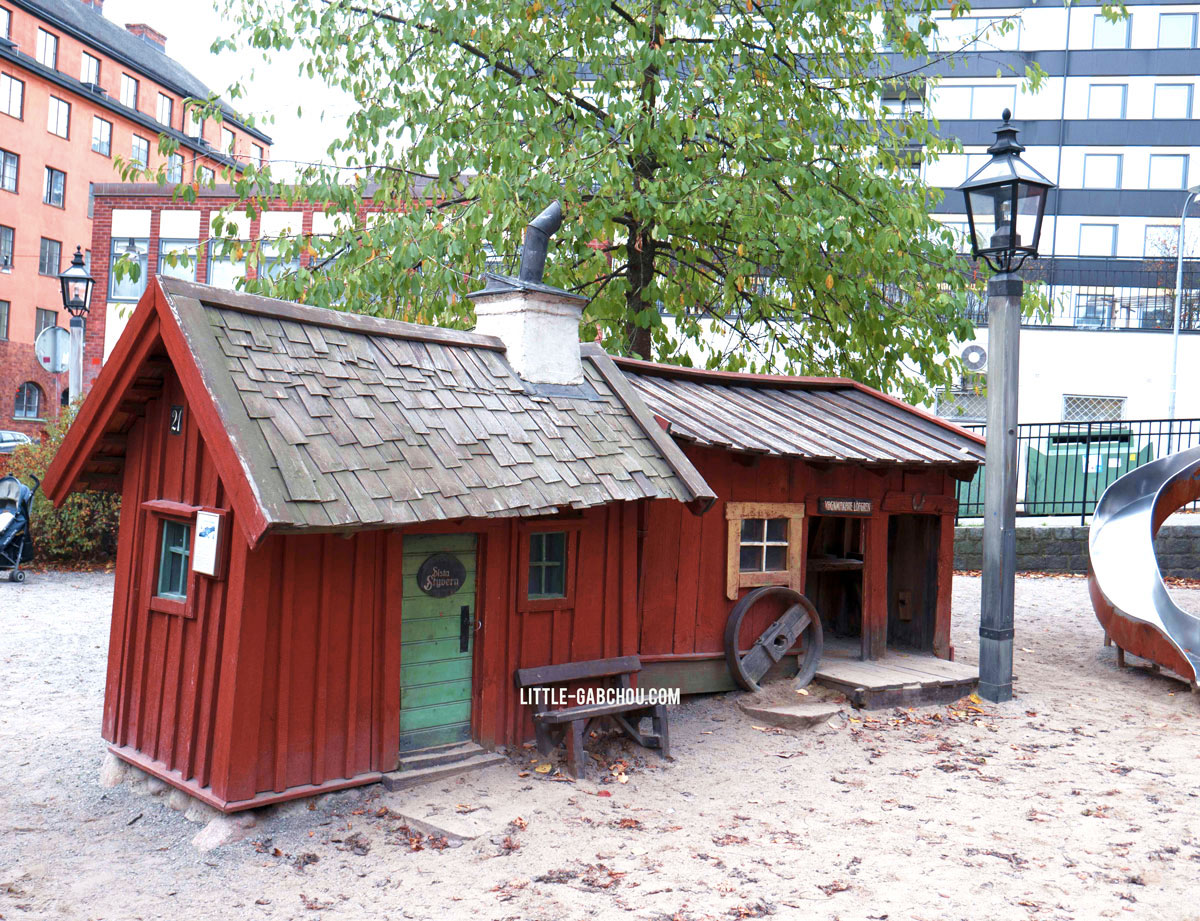 parc pour enfants Stockholm