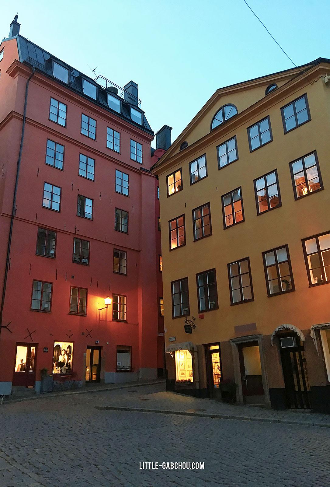vieille ville de stockholm Gamla Stan