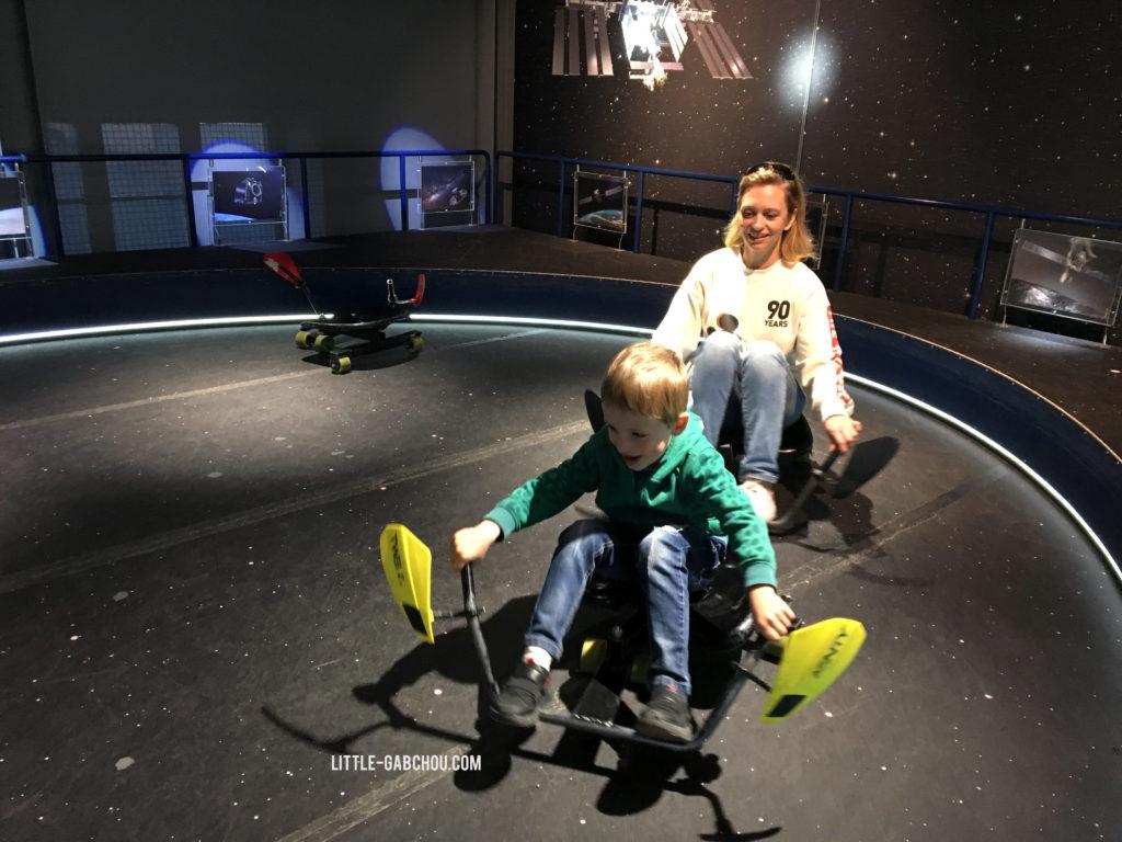 Visite de Tekniska museet à Stockholm