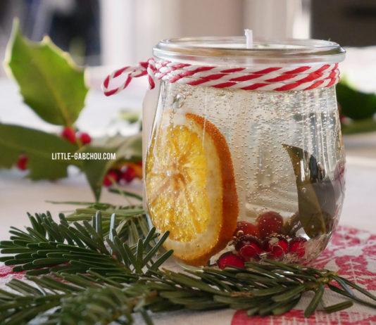 Cadeau fait main bougies décoratives transparentes