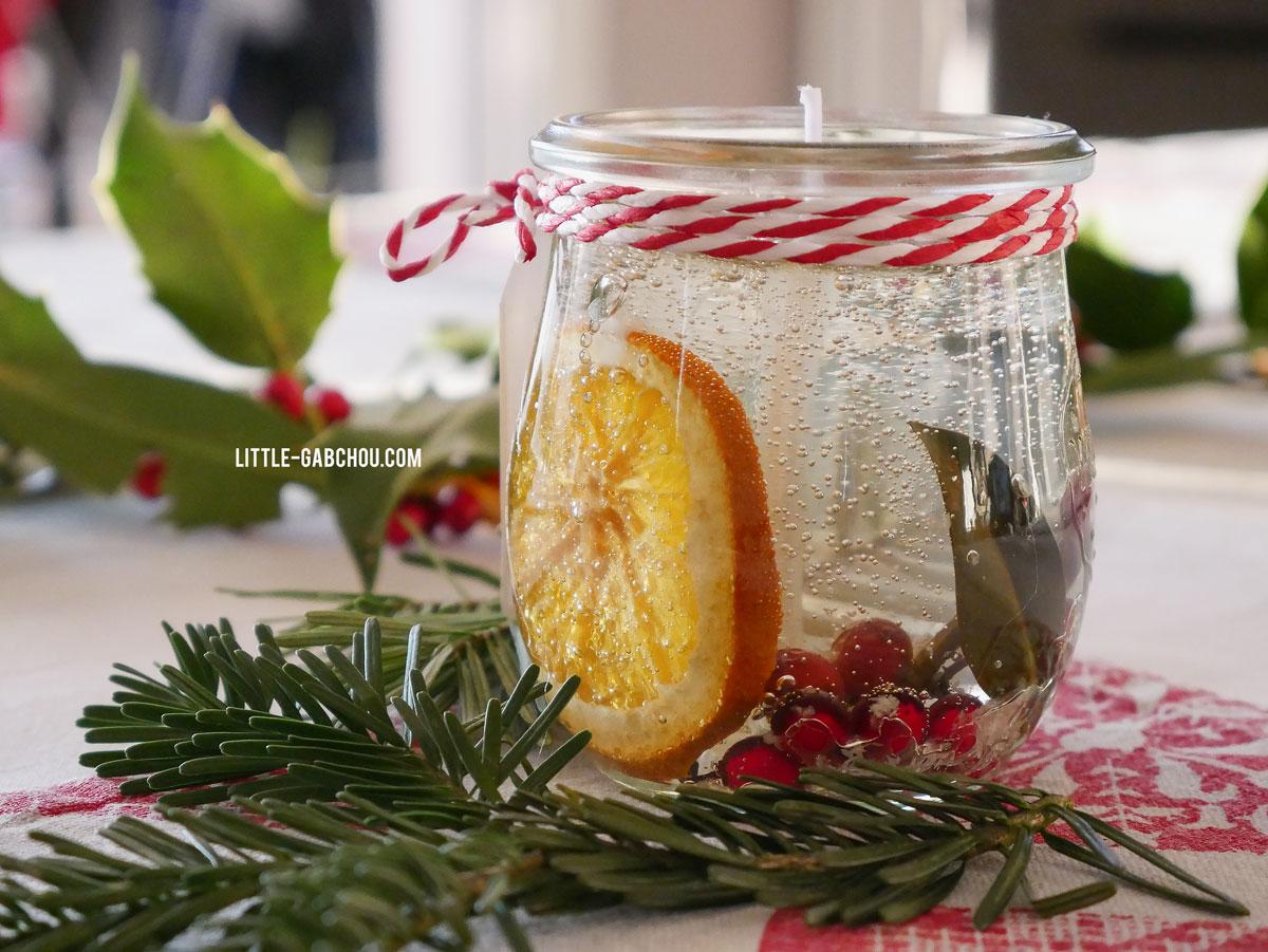 """Idee Deco Boule Plastique Transparente Noel diy idée cadeau: les bougies transparentes """"nature"""""""