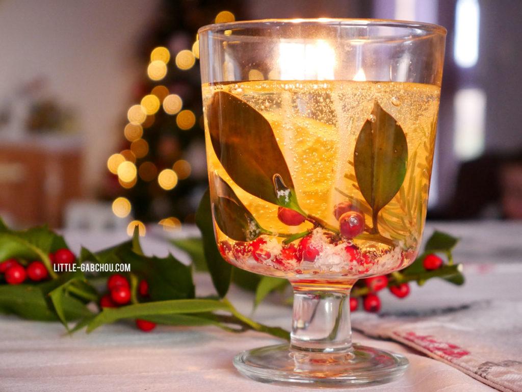 DIY idée cadeau et déco bougies transparentes