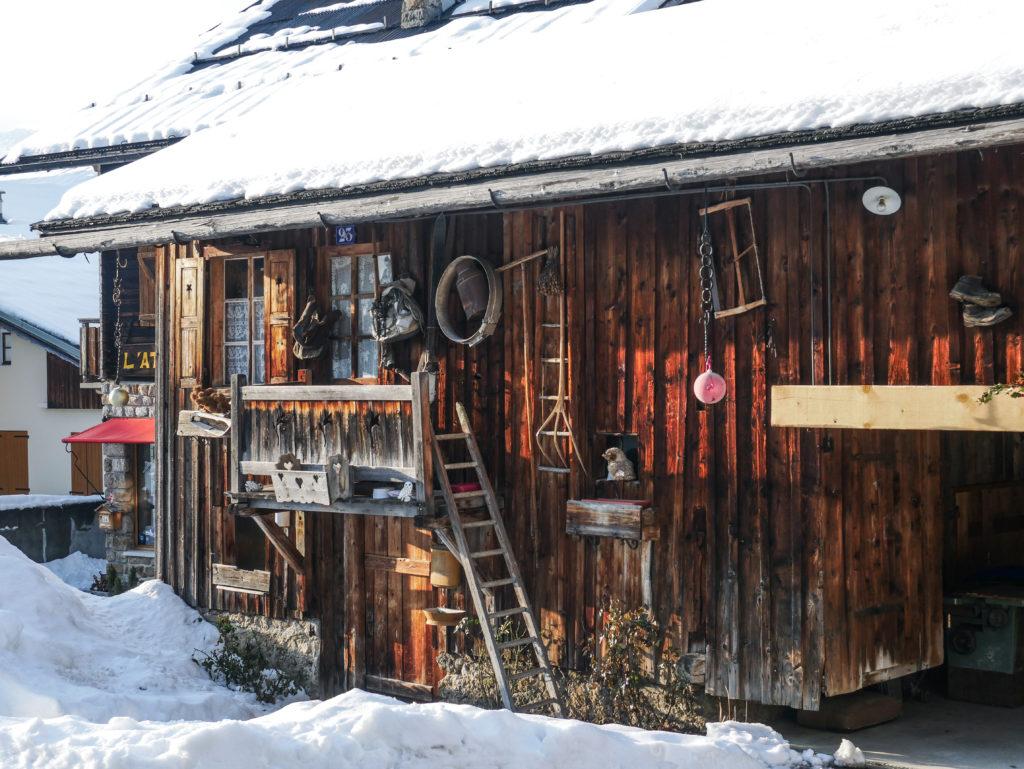 station de ski typique Notre Dame de Bellecombe