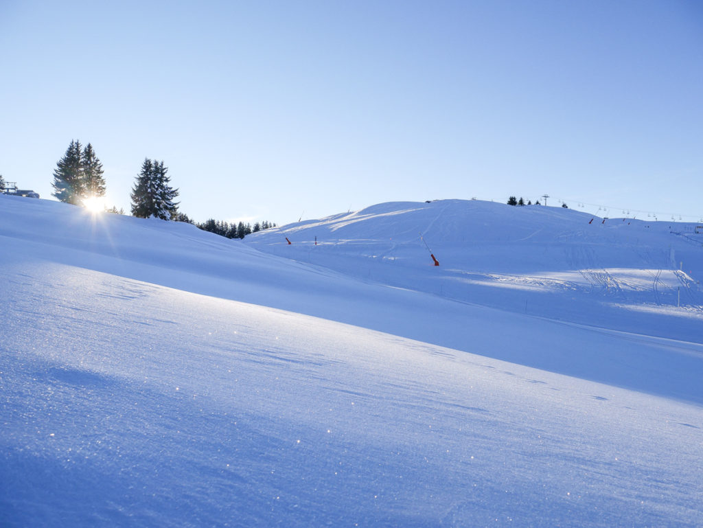 Skier en famille dans le Val d'Arly