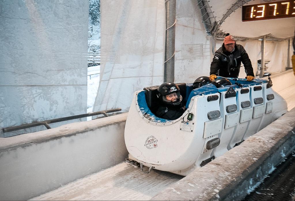 bobsleigh à La Plagne mon avis