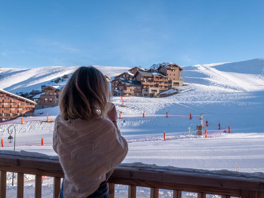 La Plagne vacances au ski en famille chez Odalys Résidence Prestige Front de Neige