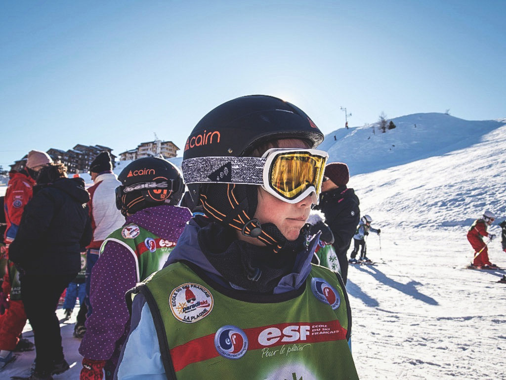 ski à la plagne en famille
