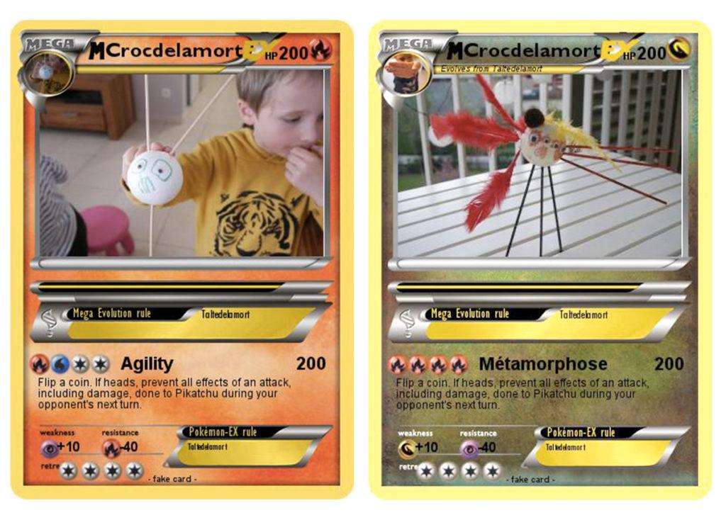 activités pour enfants sur le thème des Pokémon pour anniversaire