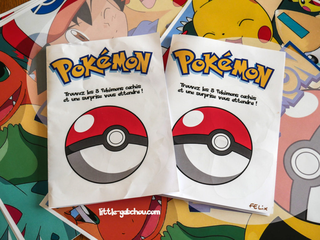 idées de décoration et activités pour occuper les enfants à un anniversaire Pokémon