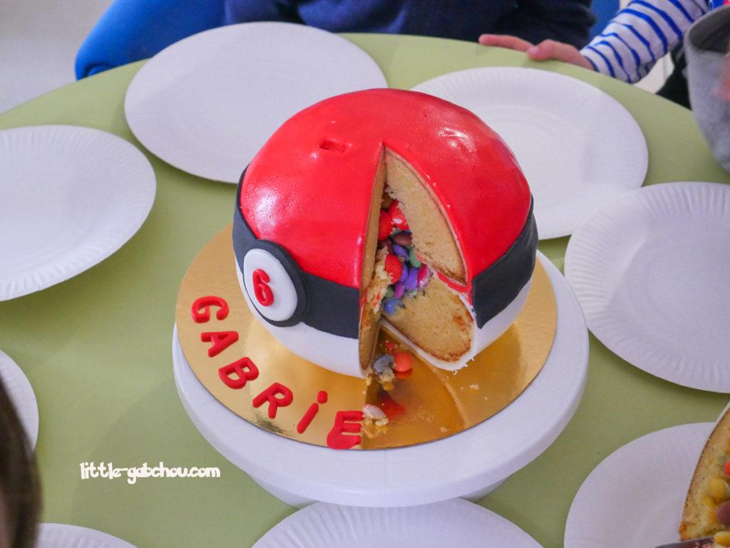 pinata cake Pokeball fait maison