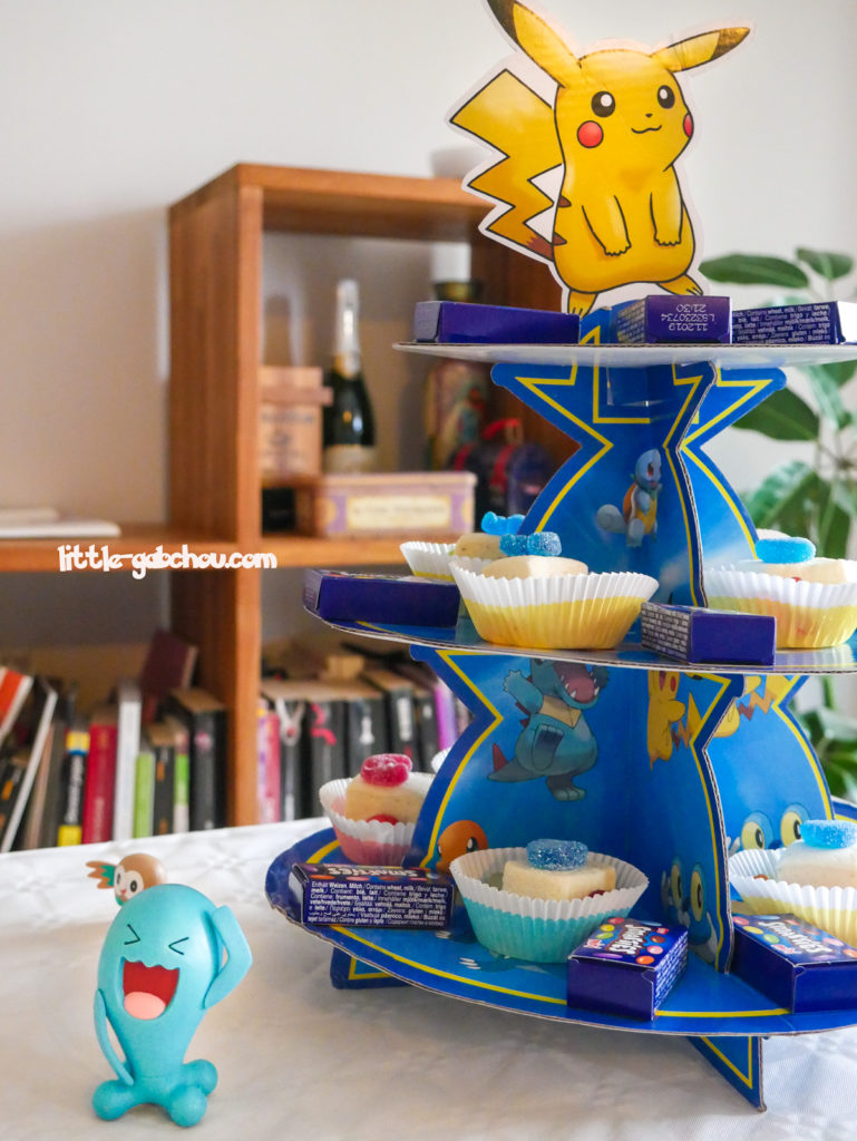 sweet table idée de décoration anniversiare Pokémon