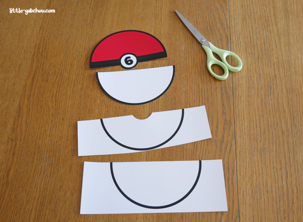 tuto invitation anniversaire Pokemon