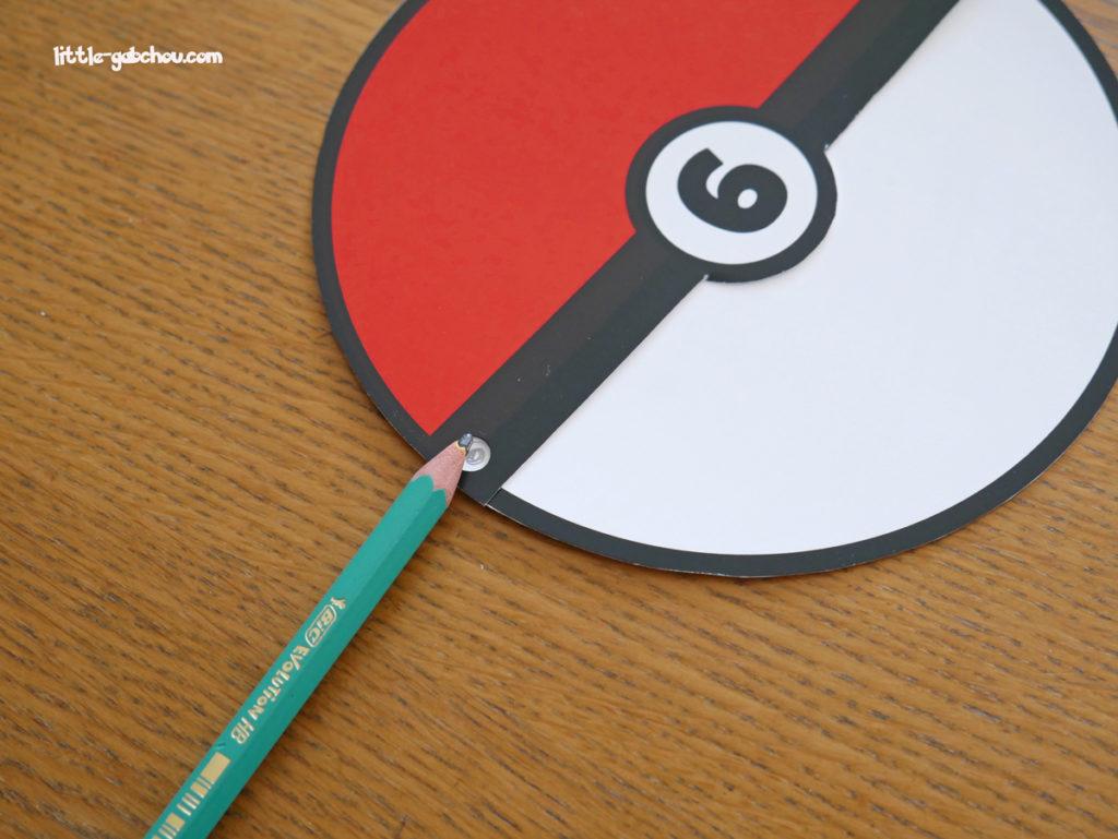 tuto invitation anniversaire Pokemon