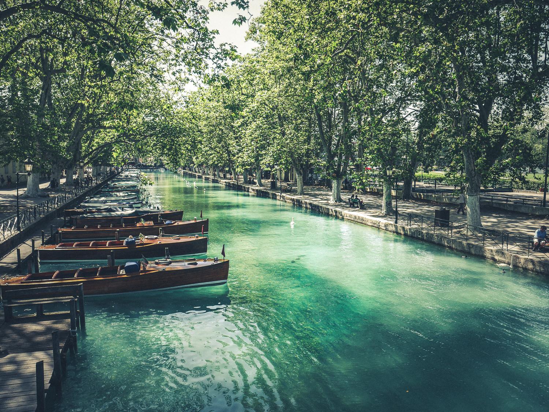 Que visiter à Annecy le pont des amours