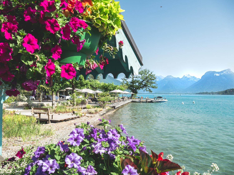 Talloires lac d'Annecy plage et sorties en famille