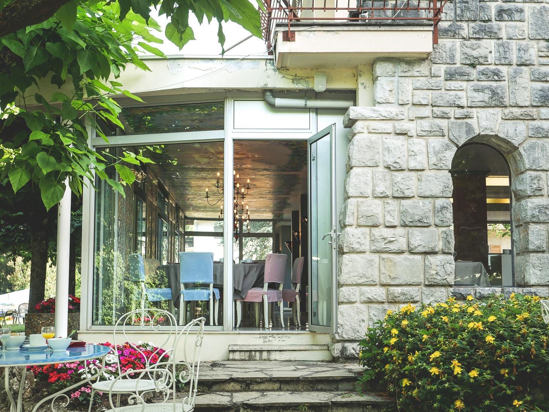 Hôtel du Lac à Talloires sur le lac d'Annecy