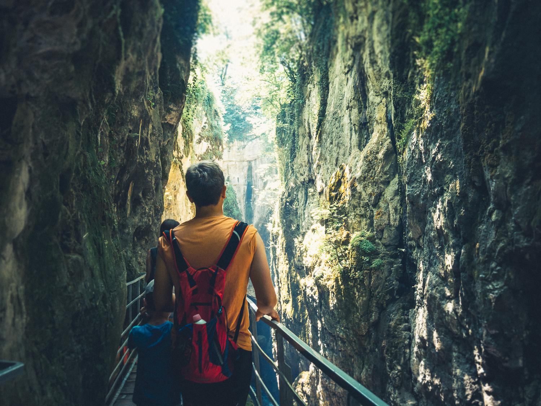 A visiter près d'Annecy les gorges du Fier