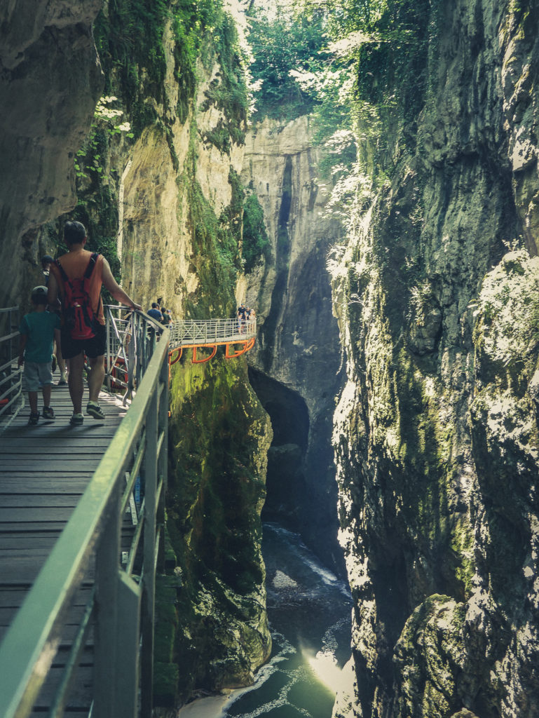 Que voir près d'Annecy le site spectaculaire des Gorges du Fier