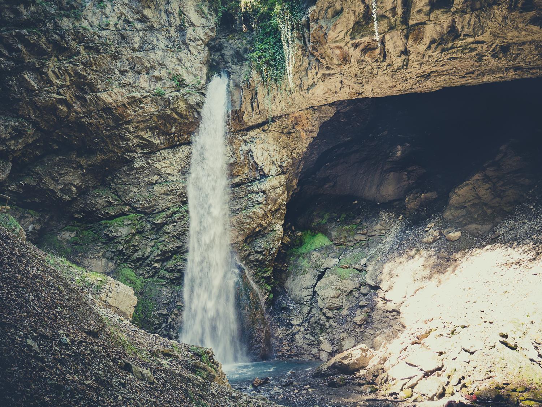 Cascades de Seythenex près d'Annecy