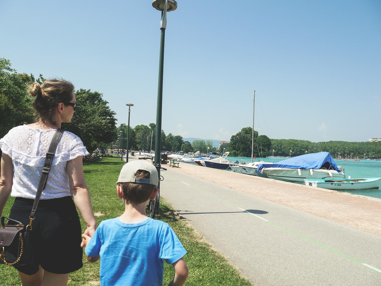 Vacances à Annecy quoi faire avec des enfants