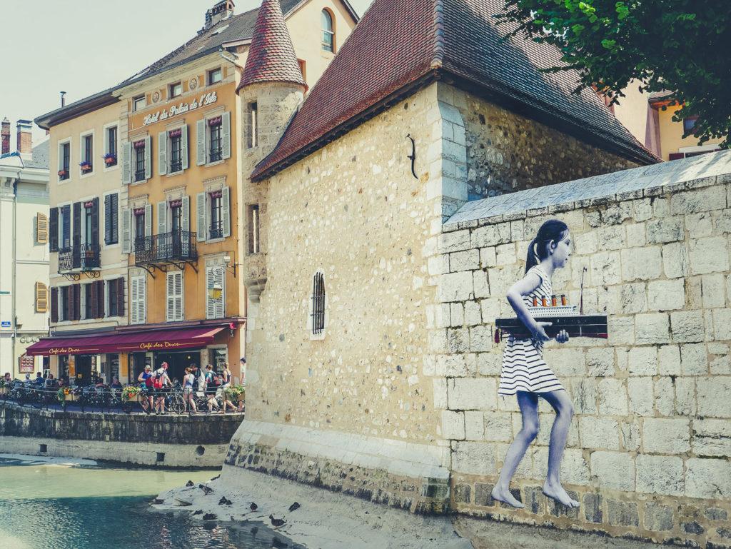 Visite du lac d'Annecy en famille