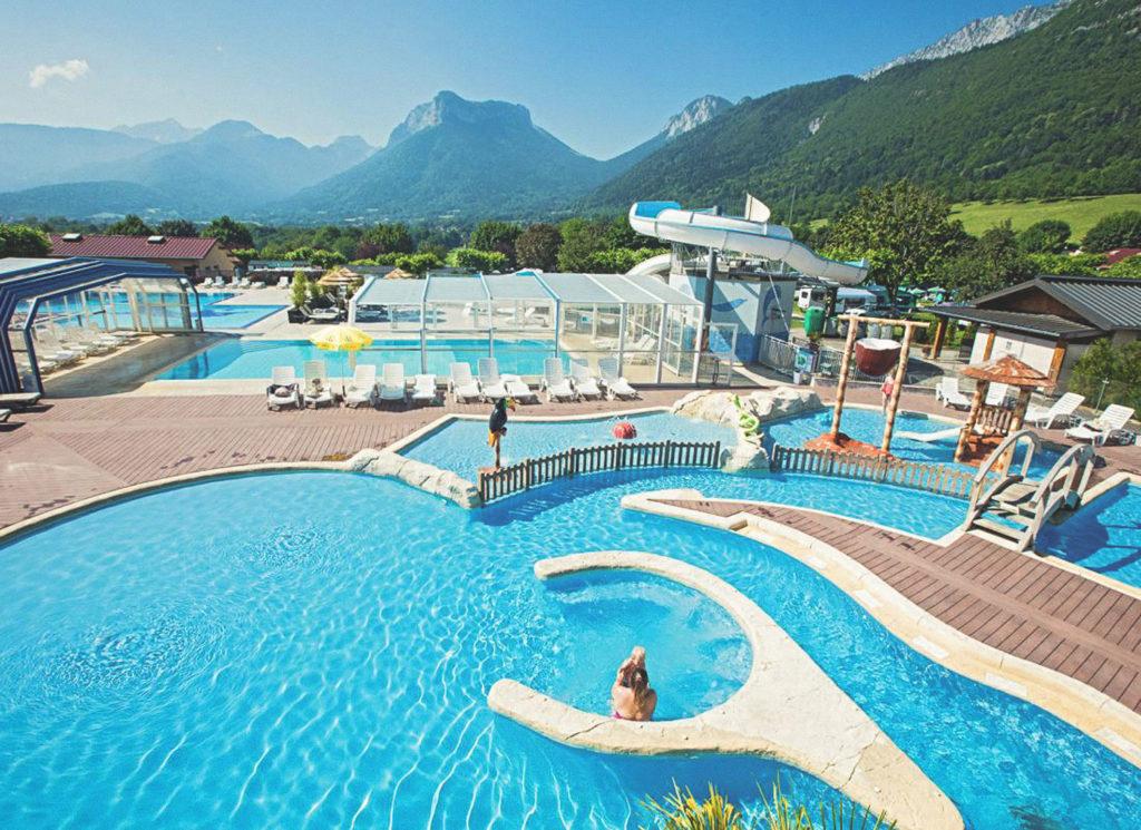Adresses pour séjourner au lac d'Annecy, camping L'idéal