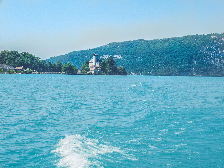 Escapade au lac d'Annecy, croisière en bateau sur le lac