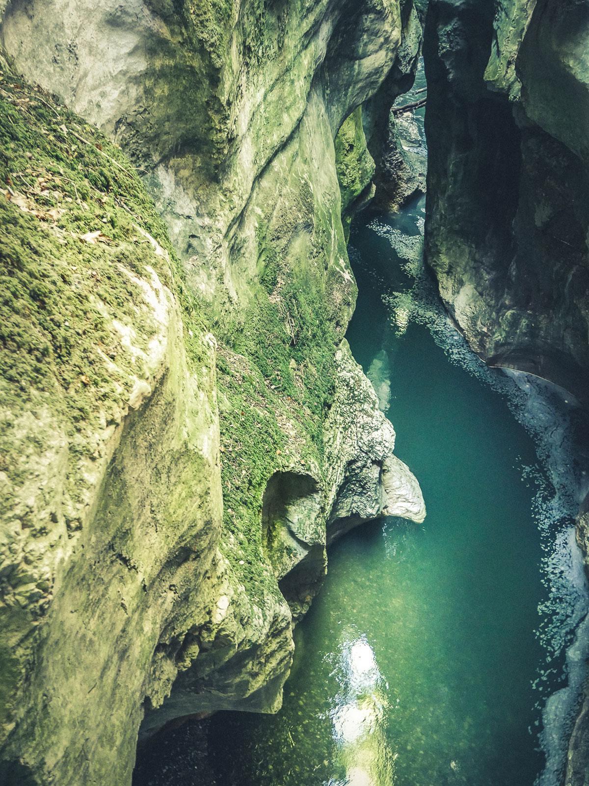 Visite du site des gorges du Fier près d'Annecy