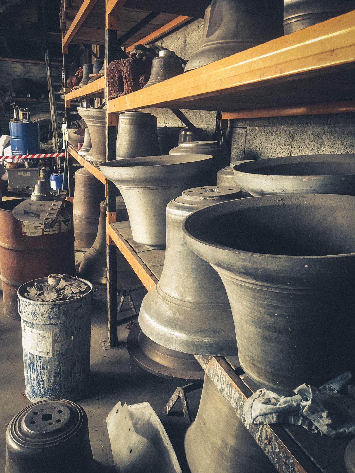 Musée de fonderie Paccard près d'Annecy