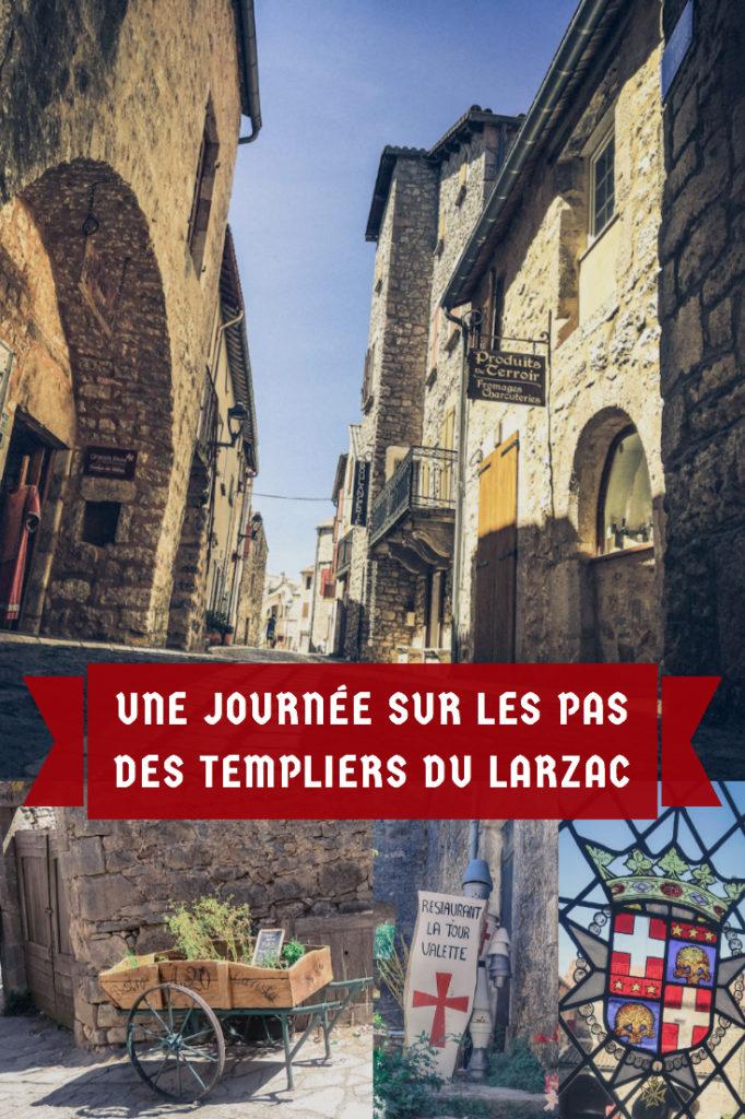 visite de la route des Templiers du Larzac dans l'Aveyron