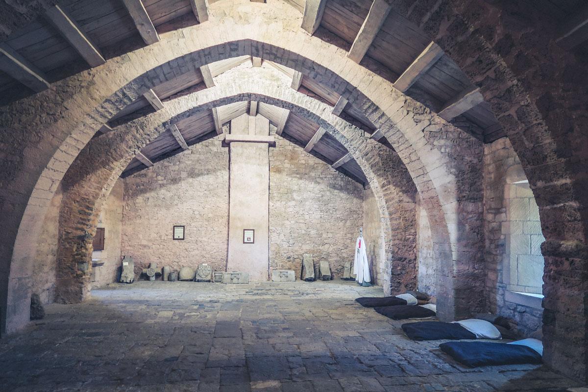 commanderie Templiers à Saint Eulalie de Cernon