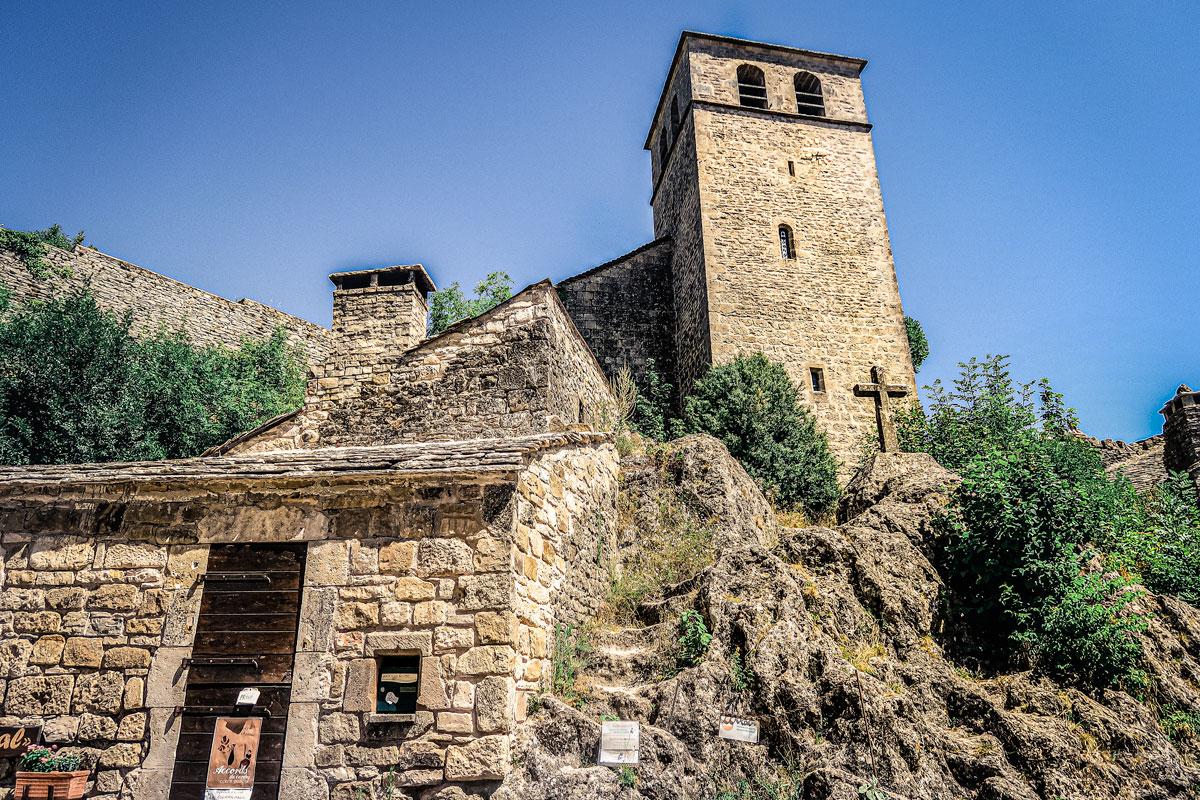 église Templiers de la Couvertoirade